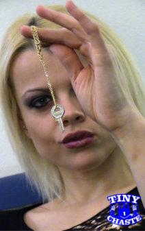 Porn Star Chastity Keyholder