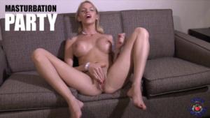 Still from Femdom POV Scene - Masturbation Party