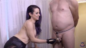 Male Chastity with Femdom Goddess Valora