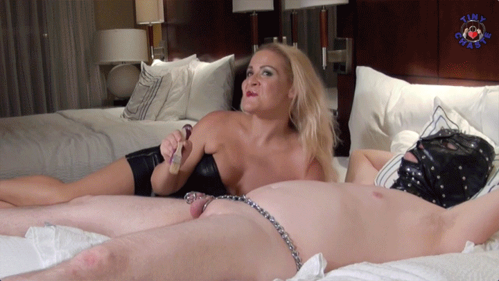 in chastity for Miss Whitney Morgan