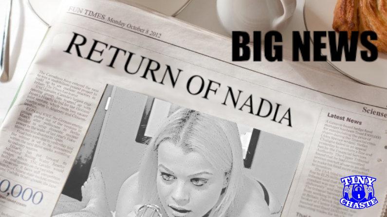 Nadia Coming To Shoot Video