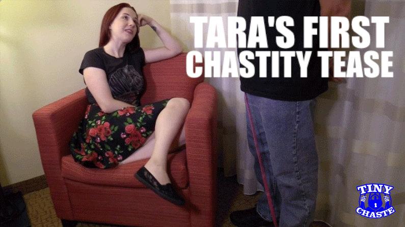 Tara Tied's First Chastity Tease header